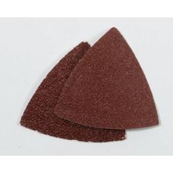 Serie di 10 piastre abrasive per levigatrice delta