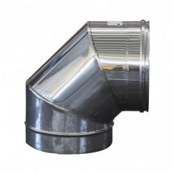 Curva Inox 90° Diam. 80mm
