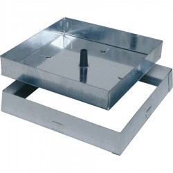 Sigillo zincato 43x43