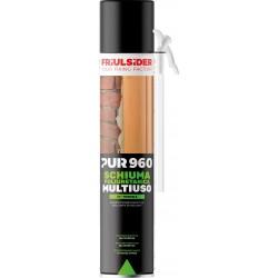 Schiuma poliuretanica PUR 960 B3 - manuale - 750 ml