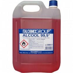 ALCOOL ETILICO DENATURATO 99,9° 5Lt