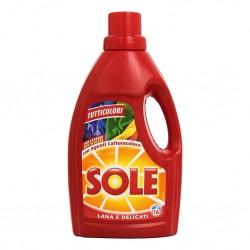 Sole Detersivo Liquido Tutti I Colori 1Lt