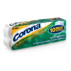 corona carta igienica 10 rotoli