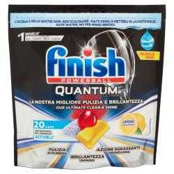 Finish Quantum Limone 20 Caps