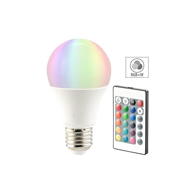 Lampada LED Goccia Multicolor 9W 6000K