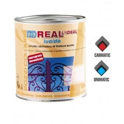 Smalto Alchidico Lucido Nero Lt.0,750 REAL Pozzi Colours