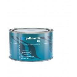 Stucco in Poliestere Universale Giallo Lt.0,750 POLYMASTIC 2K Pozzi Colours