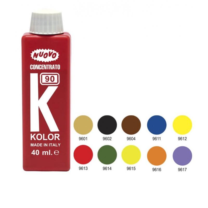 Colorante all'acqua Blu Ml.40 Pozzi Colours